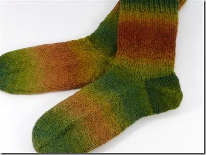 Socks - SCF Romney Fields of Gold 2-ply
